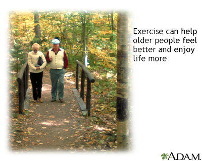 Exercise and age